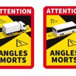 autocollant adhésif poids lourd sécurité obligation